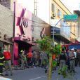 Le Kiss ravagé par un incendie gravissime à Santa Maria dans le sud du Brésil. 231 personnes sont mortes dans la nuit du samedi au dimanche 27 janvier 2013.