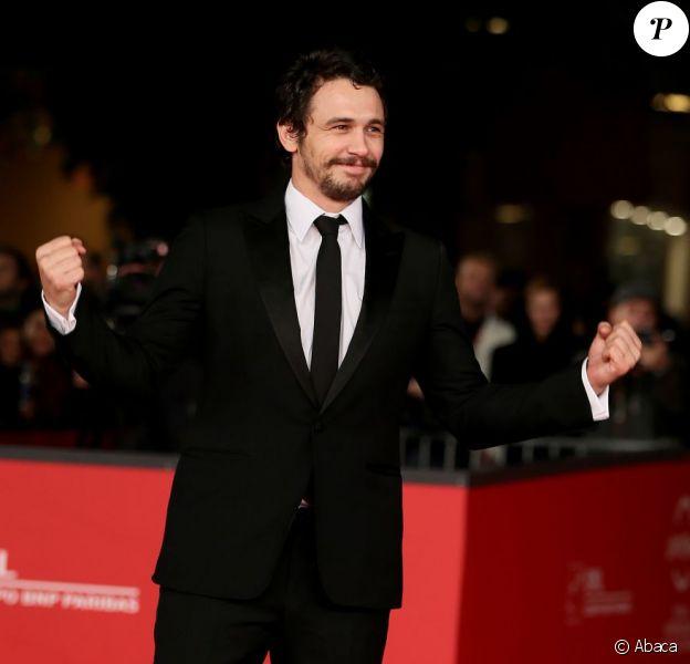 James Franco ici au Rome Film Festival le 16 novembre 2012, s'est exprimé sur le reboot de The Amazing Spider-Man.