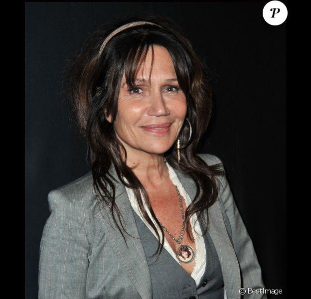 Clémentine Célarié à la soirée de Gala du festival de cinéma de Valenciennes, le 4 avril 2012.