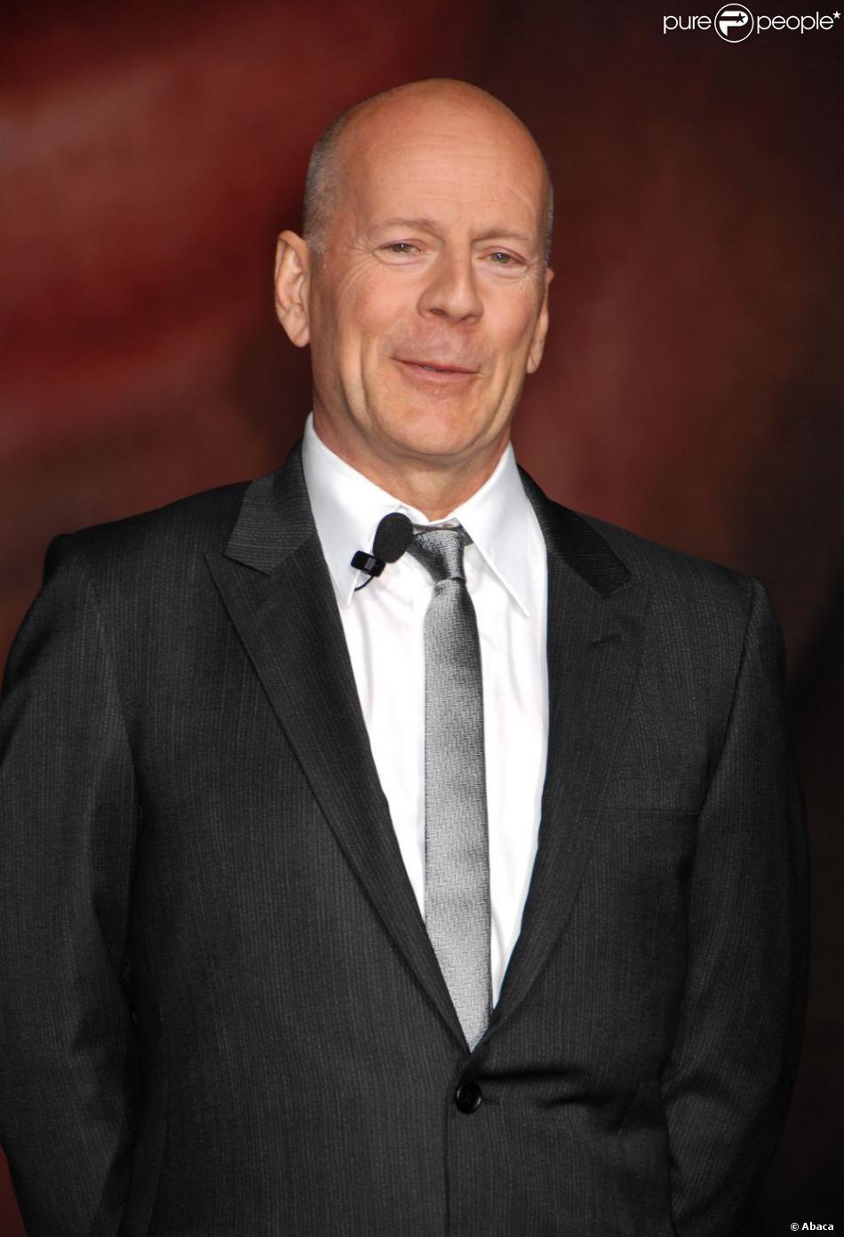 Bruce Willis honoré par la Twentieth Century Fox pour les 25 ans de Die Hard à Los Angeles, le 31 janvier 2013.