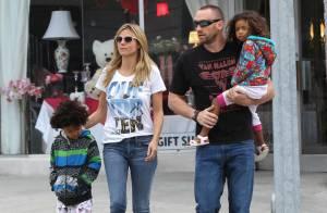Heidi Klum : Détendue avec son chéri et ses enfants, perfectionniste au travail