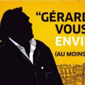 Gérard Depardieu : Une agence immobilière veut son retour en France !