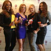 Les Spice Girls, toujours aussi fêtardes... sans Victoria Beckham