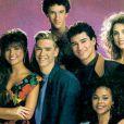 Le cast de  Sauvés par le gong,  série à succès des années 90.
