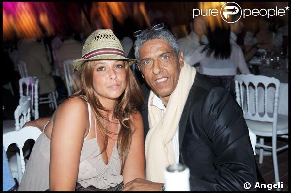 Samy Naceri à la soirée ' Don't tell my booker' avec une amie Marion