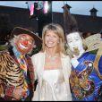 Linda Lacoste à la soirée ' Don't tell my booker' avec les clowns