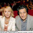 Marie-Anne Chazel et Christian Clavier à la première de Au secours j'ai 30 ans, à Paris, le 17 juin 2004.