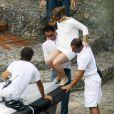 Jennifer Lopez et Marc Anthony en amoureux à Portofino