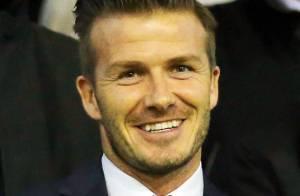 David Beckham : Premier supporter du PSG, il assiste au coup de sang de Zlatan