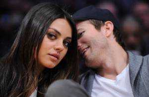 Ashton Kutcher et Mila Kunis, enfin stylés : Amoureux comme au premier jour