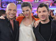 Pascal Obispo très bien entouré de son ex-femme Isabelle Funaro et Michaël Youn