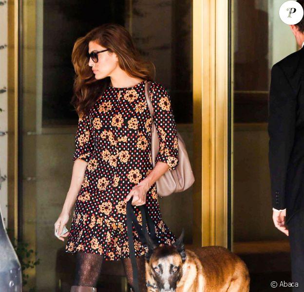 Eva Mendes le 13 février à Los Angeles