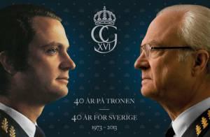 Carl XVI Gustaf de Suède, 40 ans de règne en 2013 : Le roi ouvre les festivités