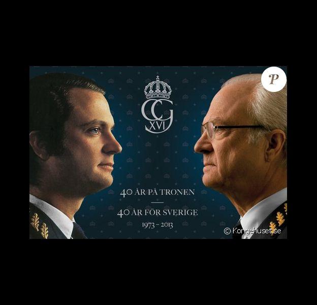 Le roi Carl XVI Gustaf de Suède célèbre en 2013 ses 40 ans de règne.