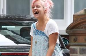 PHOTOS : Lily Allen... morte de rire !