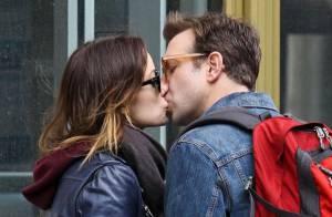 Olivia Wilde et Jason Sudeikis : Tendres baisers en pleine rue pour les fiancés