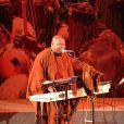Exclusif : Le chanteur Cheick Tidiane Seck - Soiree de solidarite pour le Mali a l'Unesco a Paris. Le 18 fevrier 2013