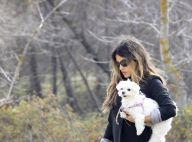 Monica Cruz : Bien enceinte et rayonnante, elle prend l'air avec ses chiens