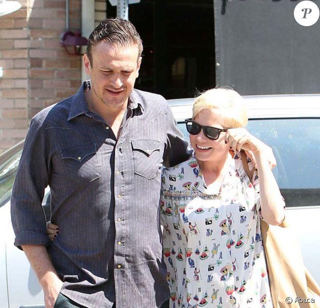 Michelle Williams et Jason Segel à Los Angeles le 20 août 2012