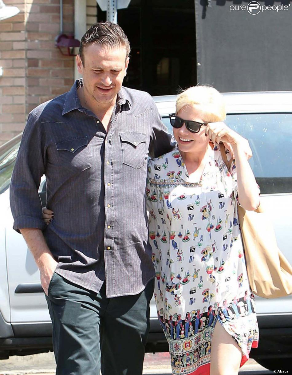 Michelle Williams et Jason Segel à Los Angeles le 20 août 2012