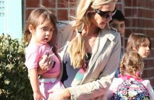 Denise Richards : Ses filles Lola, Sam et Eloise, toutes accro au rose
