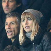 PSG-OM : Nagui et sa belle Mélanie enthousiastes devant Zlatan Ibrahimovic