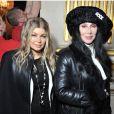 Fergie et Cher assistent au défilé Balmain automne-hiver 2013-2014 à la mairie de Paris. Le 28 février 2013.