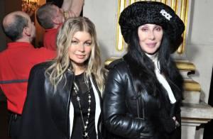 Fashion Week : Fergie enceinte et Cher forment un joli duo