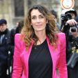 Mademoiselle Agnès arrive à la mairie de Paris pour assister au défilé Balmain automne-hiver 2013-2014. Le 28 février 2013.