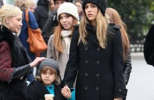 Jessica Alba à Paris : Après la tour Eiffel, le shopping avec sa fille Honor