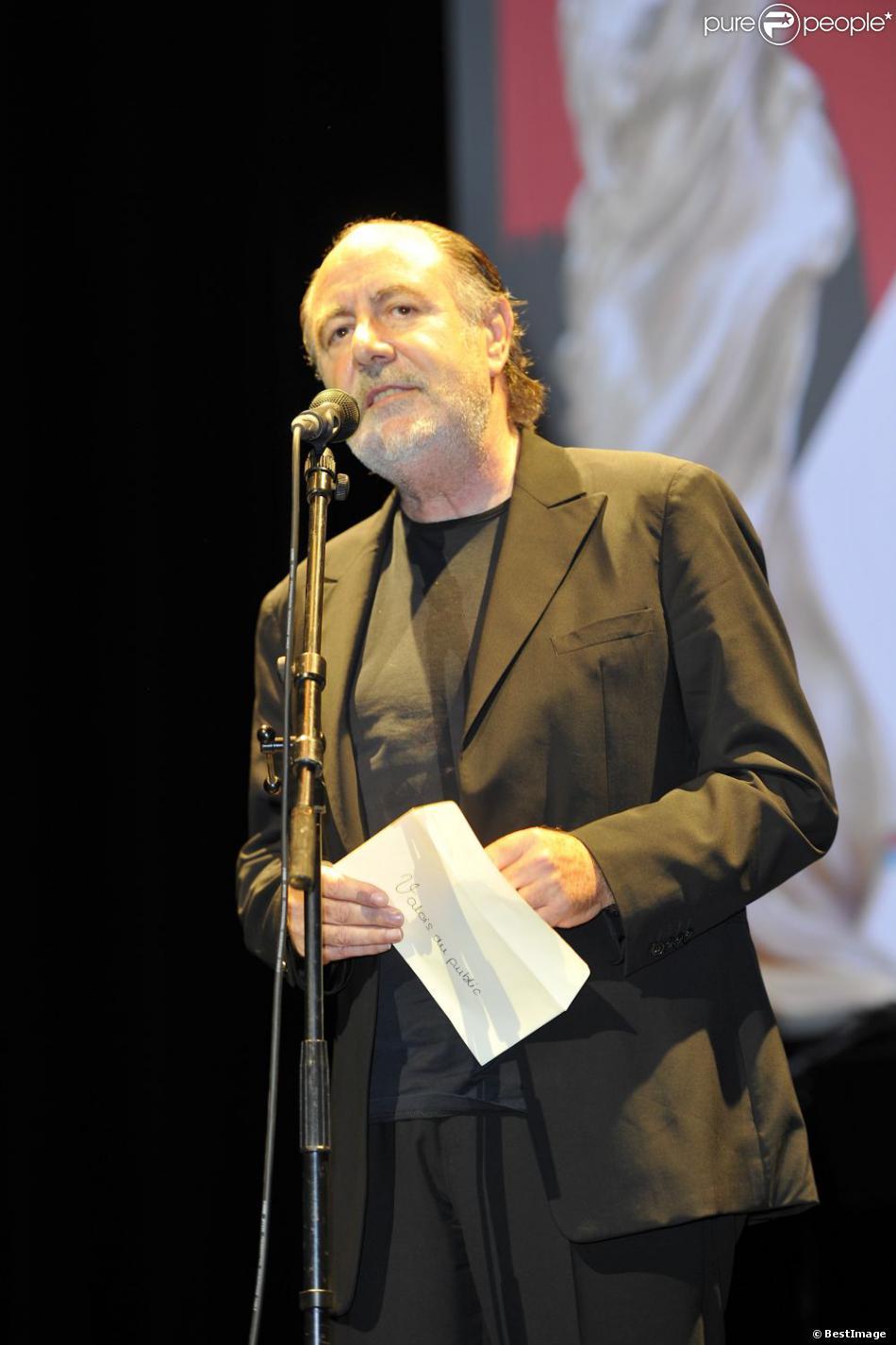 Michel Delpech,Angoulême le 28 août 2012.
