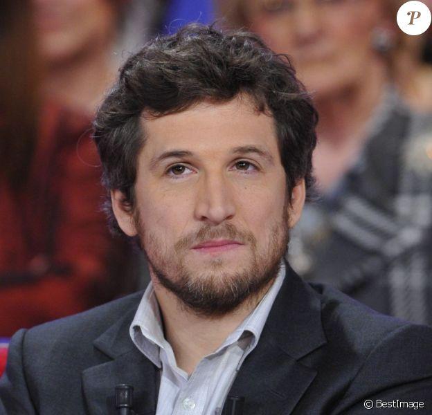 Guillaume Canet lors de l'enregistrement de l'émission Vivement Dimanche à Paris diffusée le 10 mars 2013