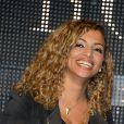 Kayna Samet lors du concert organisé pour l'association des petits anges de la vie, au VIP room, le 10 mars 2013