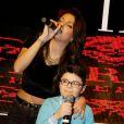 TAL et Rogers lors du concert organisé pour l'association des petits anges de la vie, au VIP room, le 10 mars 2013