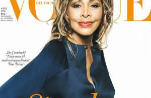 A 73 ans Tina Turner bat tous les records en couverture de Vogue