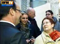 François Hollande, chahuté dans la rue : ''Ne vous mariez pas avec Valérie !''