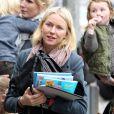 Naomi Watts et sa famille du côté de Brentwood le 16 mars 2013