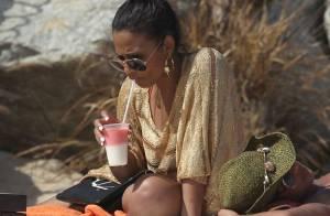 Christina Milian : Bronzage et fête en bikini avec des amies au Mexique