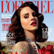 Lana Del Rey : Icône glamour et poétesse, pour L'Officiel Paris