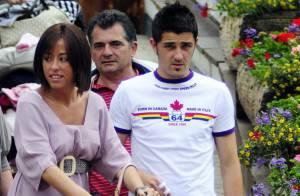 David Villa, heureux avec ses enfants et la Roja, présente son bébé Luca, 2 mois