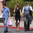 Britney Spears et son nouveau petit-ami David Lucado, le vendredi 22 mars 2013, se rendant au centre commercial de Thousand Oaks.
