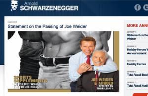 Arnold Schwarzenegger bouleversé par la mort de Joe Weider, père de son destin