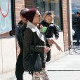 Pink en virée shopping avec sa fille Willow à New York, le 22 mars 2013.