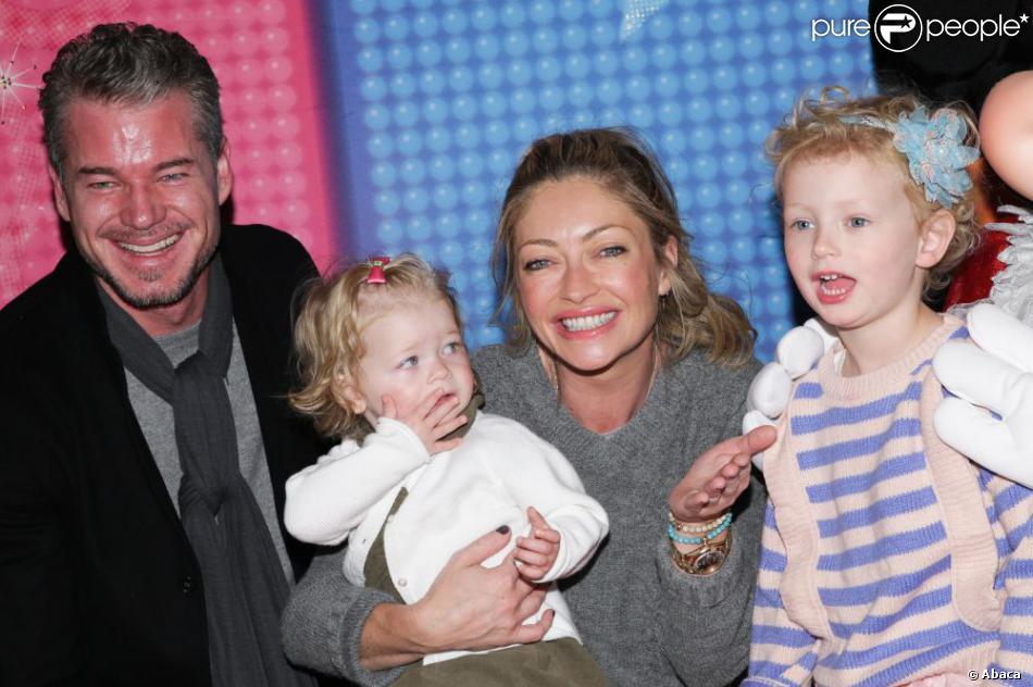Eric Dane, Rebecca Gayheart, et les petites Georgia et Billie au ...