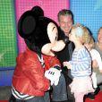 Eric Dane, Rebecca Gayheart, Georgia et Billie au Disney Live! Mickey Music Festival, à New York le 23 mars 2013.
