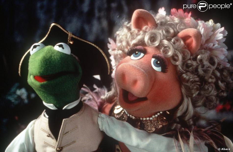 """Des images de  """"L'Île au trésor des Muppets""""  réalisé par Brian Henson, fils de Jim et Jane Henson, sorti en 1996 sur les écrans."""