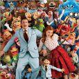 """Jason Segel et Amy Adams dans """"Les Muppets, le retour"""" sorti en 2011."""