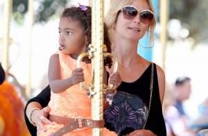Heidi Klum retombe en enfance : Belle journée chez Mickey avec la tribu !