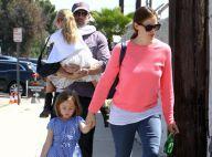 Jennifer Garner et Ben Affleck: Câlins et promenade avec leurs adorables enfants