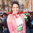Laury Thillemanau marathon de Paris le dimanche 7 avril 2013 pour courir sous les couleurs de Mécénat Chirurgie Cardiaque